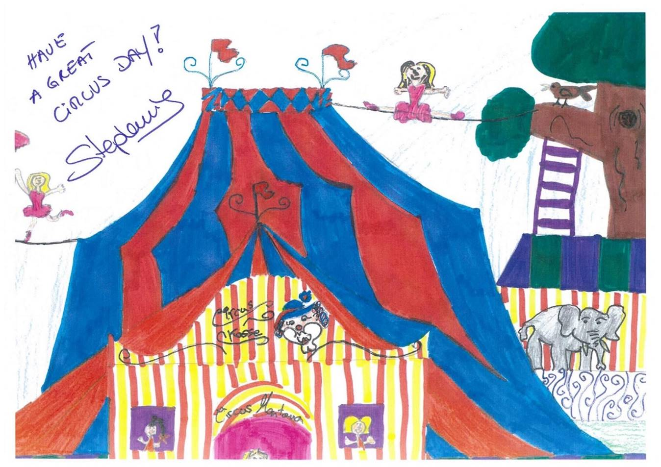 World Circus Day greeting of H.S.H. Princess Stéphanie of Monaco